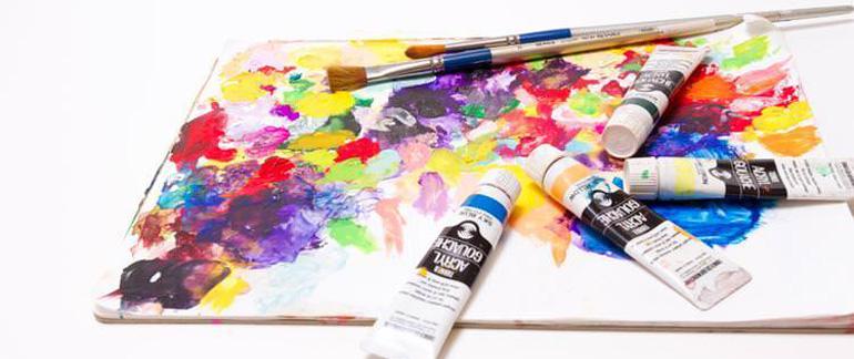 日本画家なら気になる新しい紙の支持体、三彩紙使ってみた