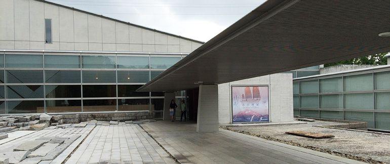 森の中の美術館、郡山美術館『吉田博展』
